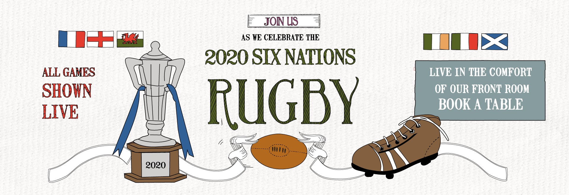 6 Nations Live at Wanstead