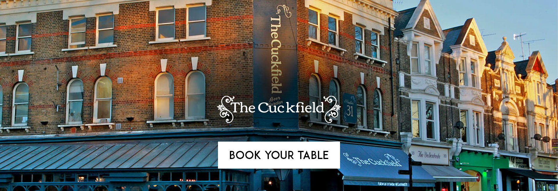 Book Your Table at The Cuckfield